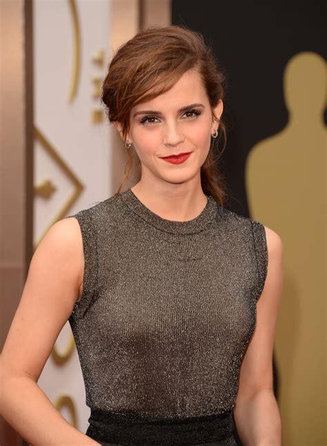 Emma Watson Oscars Hair