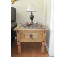 End table living room country decor Plan