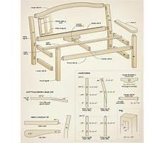 English garden bench plans.aspx Plan