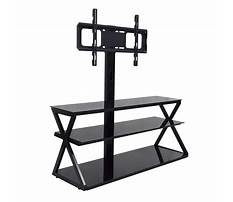 Entertainment center swivel stand Plan