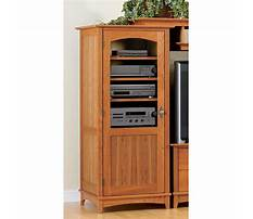 Entertainment center tower cabinet Plan