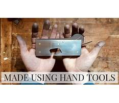 Essential woodworking hand tools.aspx Plan