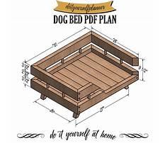 Etsy wood dog bed Plan