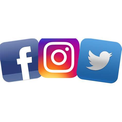 Facebook Twitter Instagram Logo Transparent