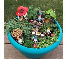 Fairy garden supplies Plan