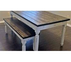 Farm dining table with bench.aspx Plan