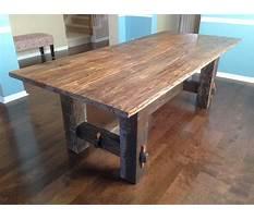 Farm wood table.aspx Plan