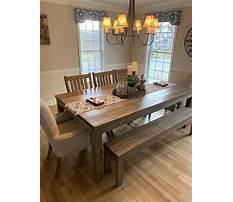 Farmhouse dining room table set.aspx Plan