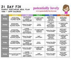 Fat free vegan diet plan Plan