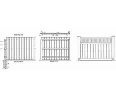 Fence design online Plan