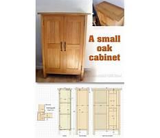 Fine woodworking cabinet Plan