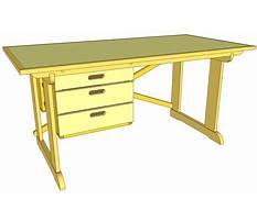 Fine woodworking computer desk.aspx Plan