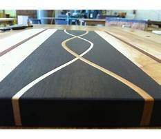 Fine woodworking cutting board video Plan