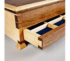 Fine woodworking elegant box Plan