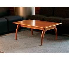 Fine woodworking mahogany coffee table Plan