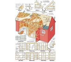 Fine woodworking shed plans Plan