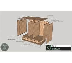 Fireplace cabinet design Plan