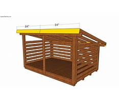 Firewood shed plans free Plan