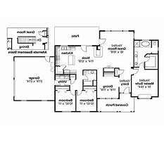 Floor plans for ranch homes Plan
