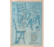 Folding library chair.aspx Plan