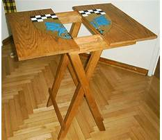 Folding table bench plans Plan