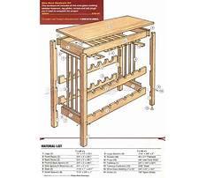 Folding wine rack plans Plan