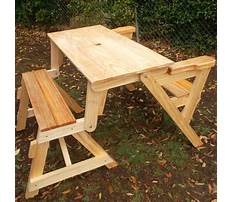 Folding wooden picnic table plans Plan