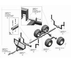 Free atv trailer blueprints Plan