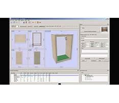 Free cabinet making software for mac Plan