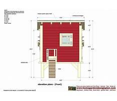 Free chook house plans Plan