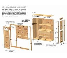 Free custom kitchen cabinet plans Plan