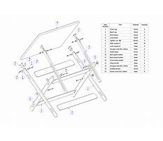 Free drafting table plans available download Plan