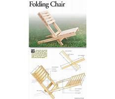 Free folding camp chair plans Plan