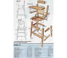 Free high chair building plans Plan