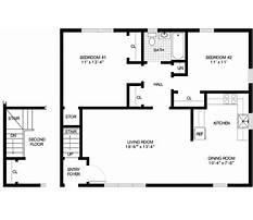 Free house floor plans downloads Plan