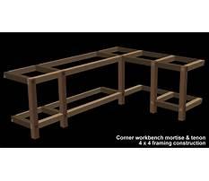 Free l shaped workbench plans Plan