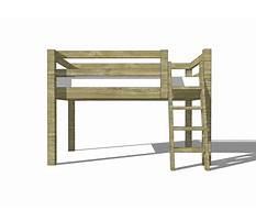 Free loft bed plans twin size Plan