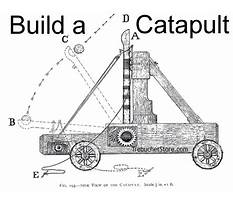 Free medieval catapult plans Plan