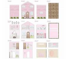 Free miniature dollhouse patterns Plan