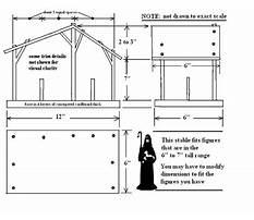 Free nativity plans Plan