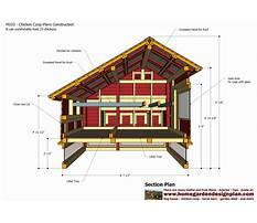 Free plans chicken coop Plan