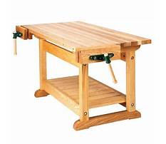 Free plans for building a woodworking bench Plan