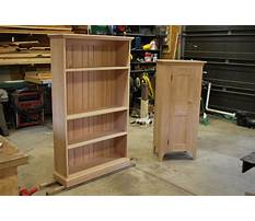 Free plans for corner bookcase Plan