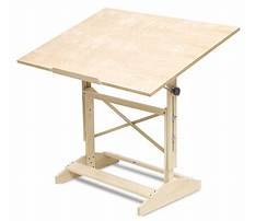 Free plans for drafting table Plan