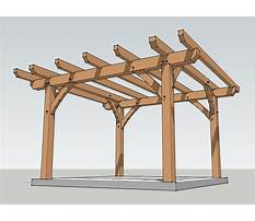 Free plans for wooden pergola designs Plan