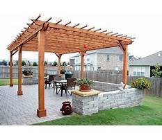 Free plans for wooden pergola kits Plan