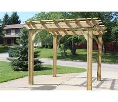 Free plans for wooden pergola with polycarbonate Plan