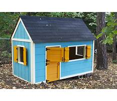 Free plans to build a child s playhouse Plan