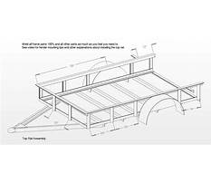 Free plans to build a utility trailer Plan