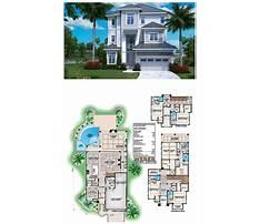 Free printable small beach house plans Plan